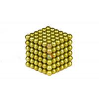 Forceberg TetraCube - куб из магнитных кубиков 5 мм, стальной, 216 элементов - Forceberg Cube - куб из магнитных шариков 5 мм, оливковый, 216 элементов