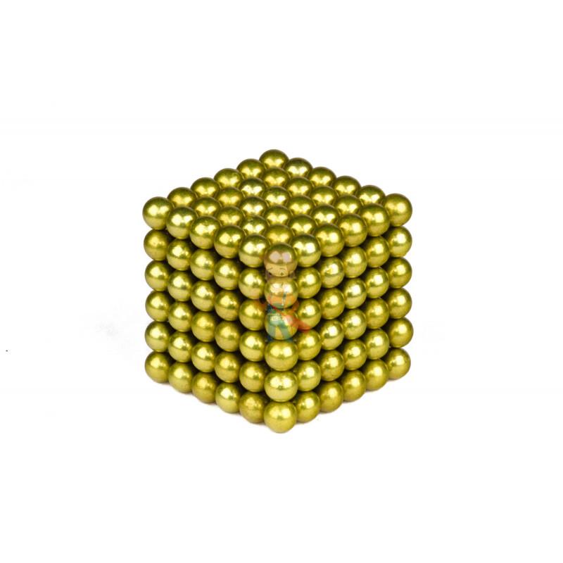Forceberg Cube - куб из магнитных шариков 5 мм, оливковый, 216 элементов