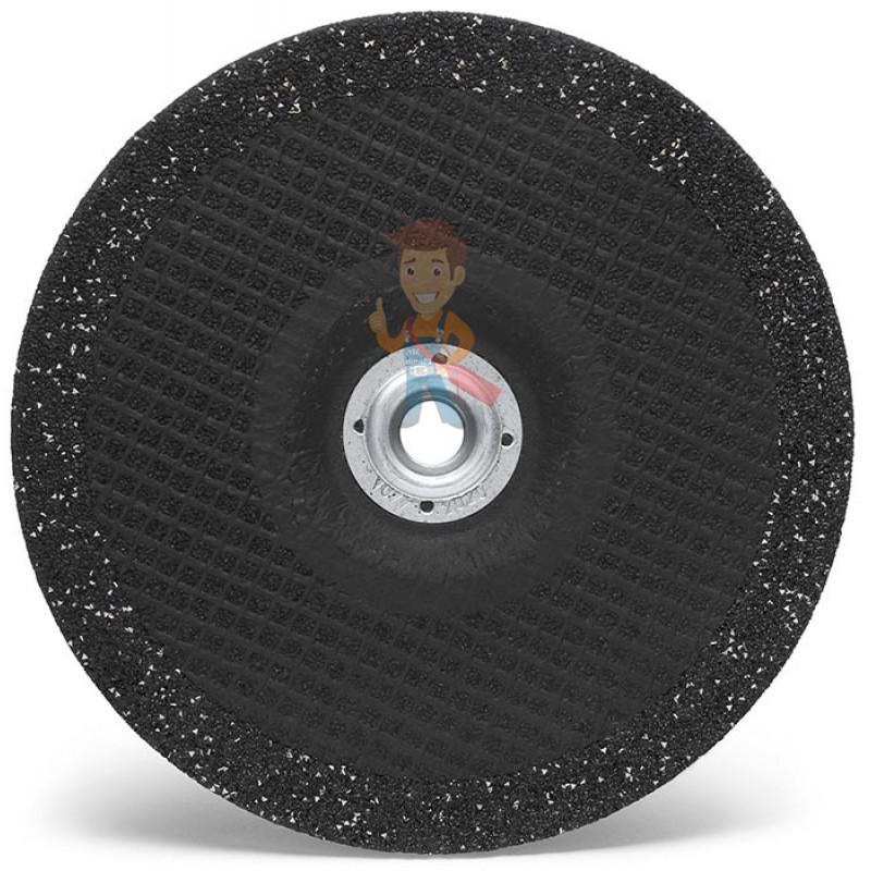 Круг зачистной Silver, T27 125 мм х 7 мм х 22,23 мм - фото 1