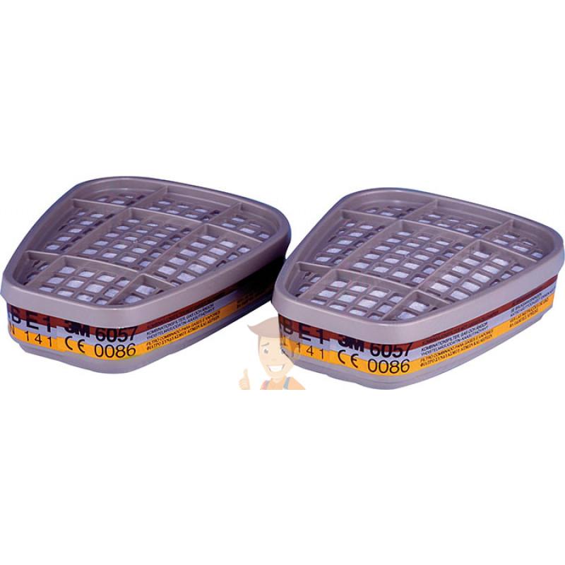 Комбинированный фильтр от газов и паров 3M™ 6057, ABE1, 1 пара