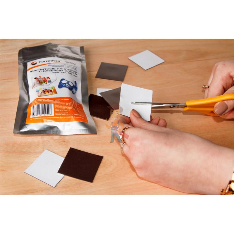 Магнитные виниловые наклейки Forceberg 4x4 см, 50 шт - фото 6