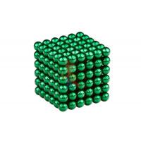 Forceberg Cube - куб из магнитных шариков 5 мм, жемчужный, 216 элементов - Forceberg Cube - куб из магнитных шариков 6 мм, зеленый, 216 элементов