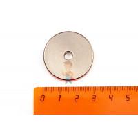 Магнитное крепление с отверстием А60 - Неодимовый магнит кольцо 30х5х5 мм, N33EH
