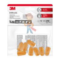 Вкладыши противошумные 3М™ многоразовые со шнурком в пластиковом контейнере, 1 пара/уп. - Вкладыши противошумные 3М™ одноразовые, 4 пары/уп