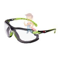 Cалфетки очищающие 3M, для ухода за очками, 100 шт. в индивидуальных упак. - Очки открытые защитные из поликарбоната, прозрачные, с усиленным покрытием Scotchgard™