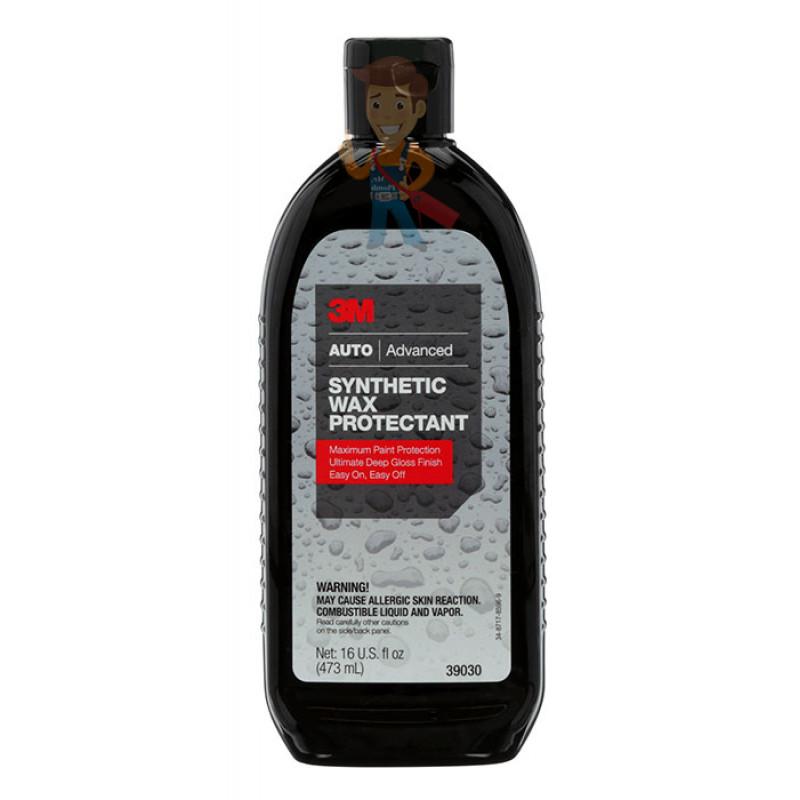 Защитная автополироль (воск) 3M™ 39030
