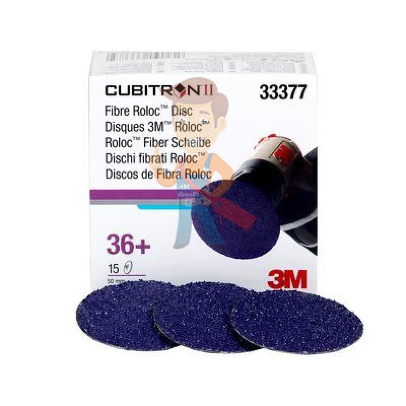 Круг зачистной 786C Cubitron™ II Roloc™, 50 мм, 36+, 3 шт./уп. - фото 1