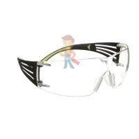 Cалфетки очищающие для ухода за очками в диспенсере, 500 штук в индивидуальных упаковках - Очки открытые защитные SecureFit™ 401, прозрачные, с покрытием AS/AF против царапин и запотевания