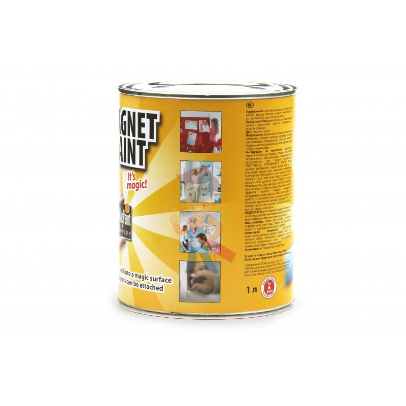 Магнитная краска MagPaint 1 литр, на 2 м² - фото 1