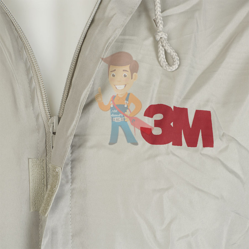 Комбинезон для малярных работ многоразовый, размер XL - фото 3