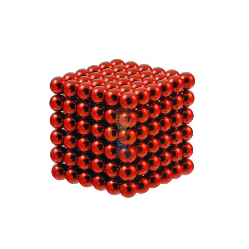 Forceberg Cube - куб из магнитных шариков 6 мм, красный, 216 элементов