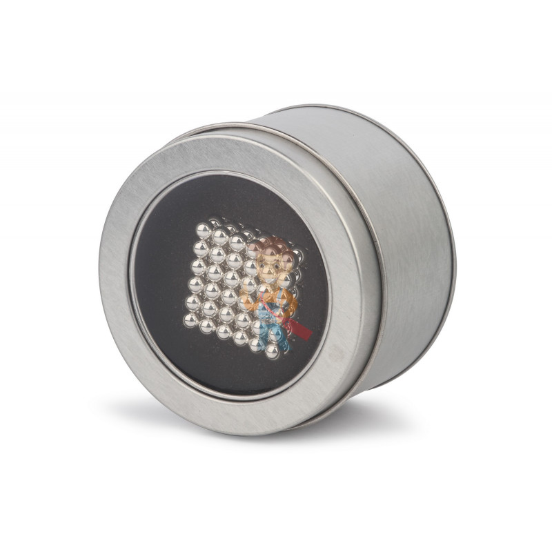 Forceberg Cube - куб из магнитных шариков 6 мм, жемчужный, 216 элементов - фото 4