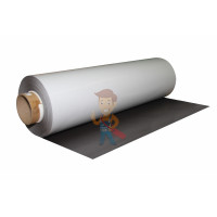 Магнитные виниловые наклейки Forceberg 4x4 см, 50 шт - Магнитный винил с клеевым слоем, рулон 0.62х30 м, толщина 0.4 мм