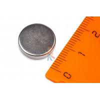 Магнитное крепление с отверстием А36 - Неодимовый магнит диск 14х3 мм