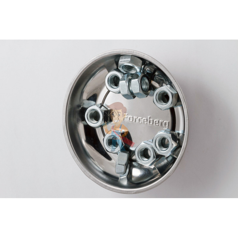 Гайка М10 шестигранная оцинкованная ГОСТ 5915-70 (DIN 934) Forceberg Home&DIY, 10 шт - фото 4