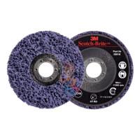 Лист шлифовальный для чистовой обработки поверхности S UFN светло-серый 158 мм х 224мм - Круг для очистки поверхности XT-RD, S XCS, фиолетовый, 115 мм х 22 мм (замена 51889)
