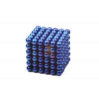 Forceberg Cube - куб из магнитных шариков 5 мм, оранжевый, 216 элементов - Forceberg Cube - куб из магнитных шариков 5 мм, синий, 216 элементов