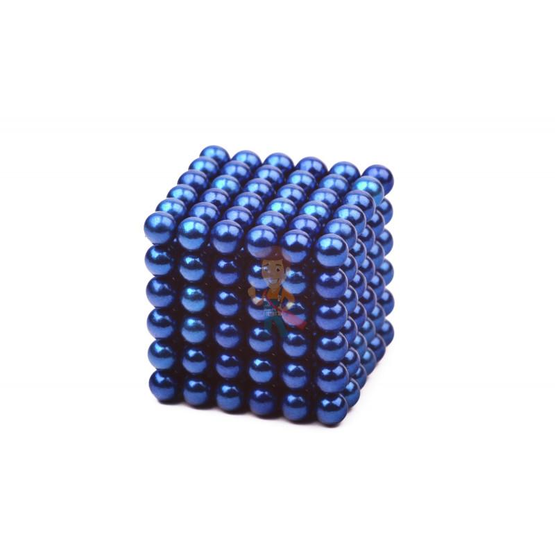 Forceberg Cube - куб из магнитных шариков 5 мм, синий, 216 элементов