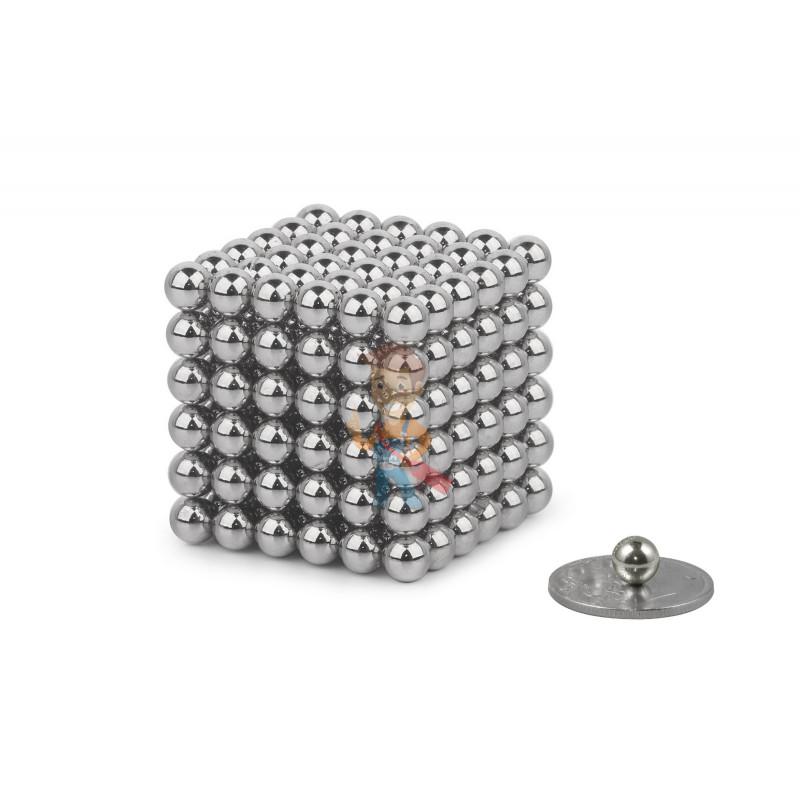 Forceberg Cube - куб из магнитных шариков 6 мм, стальной, 216 элементов - фото 1