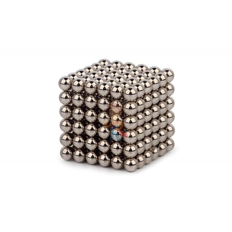 Forceberg Cube - куб из магнитных шариков 6 мм, стальной, 216 элементов