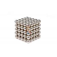 Forceberg Cube - куб из магнитных шариков 5 мм, оливковый, 216 элементов - Forceberg Cube - Куб из магнитных шариков 10 мм, стальной, 125 элементов