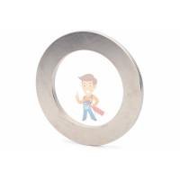 Магнитное крепление с отверстием В75 - Неодимовый магнит кольцо 90х60х5 мм