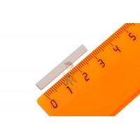 Магнитное крепление с отверстием В48 - Неодимовый магнит прямоугольник 30х4х1 мм
