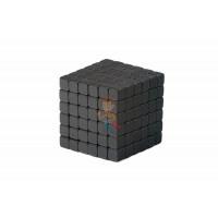 Forceberg TetraCube - куб из магнитных кубиков 6 мм, золотой, 216 элементов - Forceberg TetraCube - куб из магнитных кубиков 5 мм, черный, 216 элементов