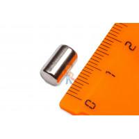 Магнитное крепление с отверстием А32 - Неодимовый магнит пруток 6х10 мм