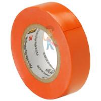 Изолента ПВХ, набор из 10 шт 15 мм x 10 м, TEMFLEX 1300 KIT 15MM - ПВХ изолента высшего класса Scotch® 35, оранжевая, 19 мм х 20 м