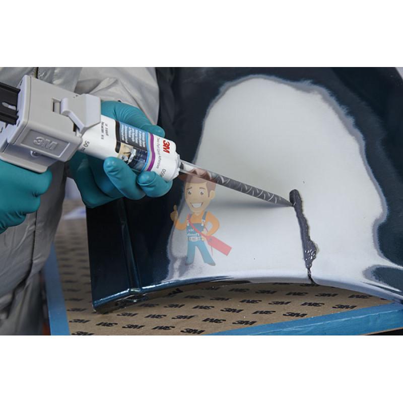 Состав для ремонта пластмассовых деталей, 2 тюб. по 25 мл. + 2 насадки - фото 4