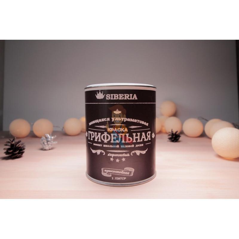Грифельная краска Siberia 1 литр, на 5 м² - фото 2