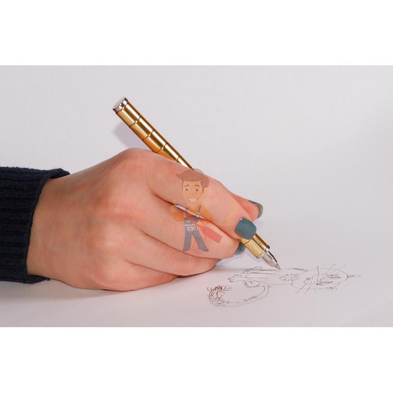 Магнитная ручка Forceberg, золотая - фото 8