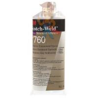 Клей эпоксидный двухкомпонентный, прозрачный, 48,5 мл 3M Scotch-Weld DP100 PLUS - Клей эпоксидный двухкомпонентный DP760, белый, 50 мл