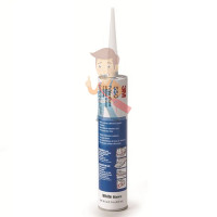 Клей-герметик гибридный 3М 760, однокомпонентный, белый, 295 мл - Клей-герметик полиуретановый 3М 550FC, однокомпонентный, серый, 310 мл