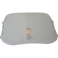 Cалфетки очищающие для ухода за очками в диспенсере, 500 штук в индивидуальных упаковках - Пластина наружная защитная для щитков SPG 100, 10шт./уп.