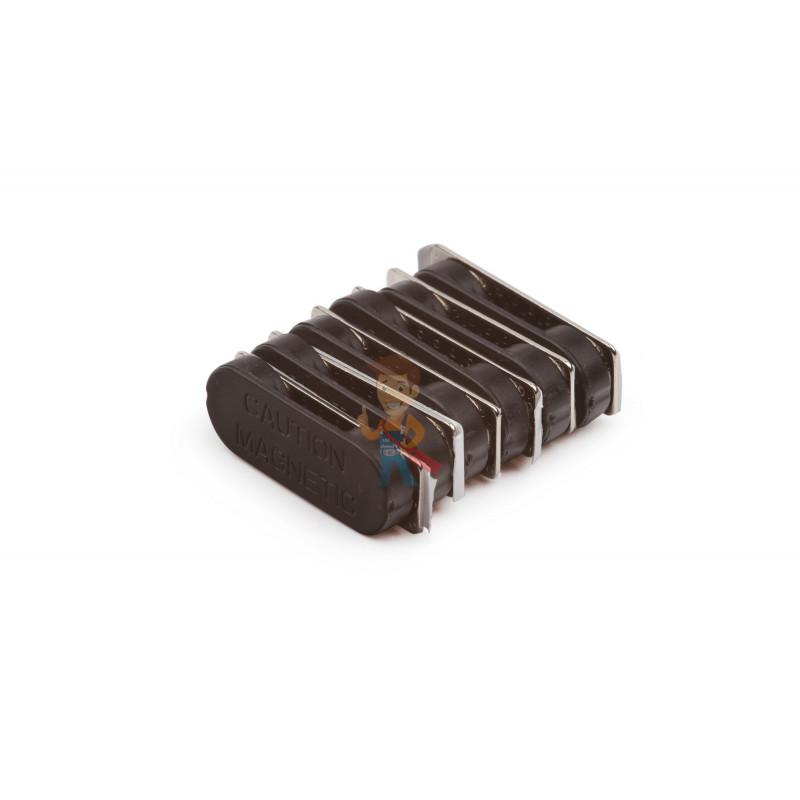 Магнитное крепление Forceberg 33х12 мм с ответной частью и клеевым слоем, пластик, 7 шт - фото 3