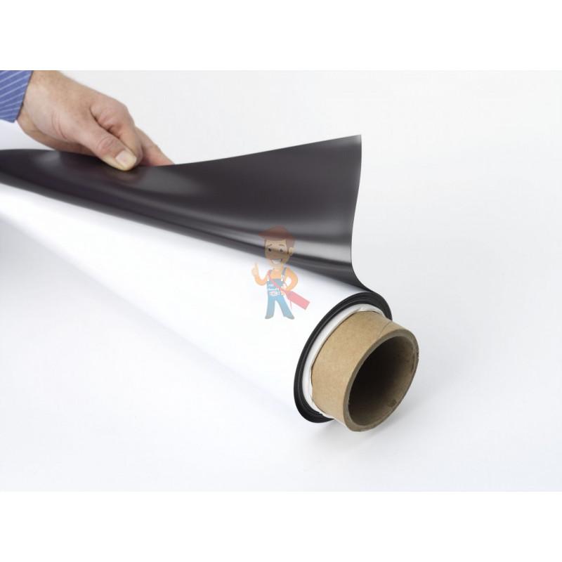 Магнитный винил Forceberg с клеевым слоем 0.62 x 1 м, толщина 0.25 мм - фото 1