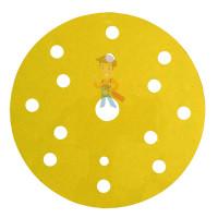 Круг зачистной 786C Cubitron™ II Roloc™, 50 мм, 36+, 3 шт./уп. - Круг абразивный 255P+, золотой, 15 отв, Р500, 150 мм, 3M™ Hookit™