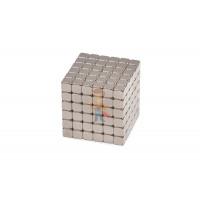 Forceberg TetraCube - куб из магнитных кубиков 5 мм, жемчужный, 216 элементов - Forceberg TetraCube - куб из магнитных кубиков 7 мм, стальной, 216 элементов
