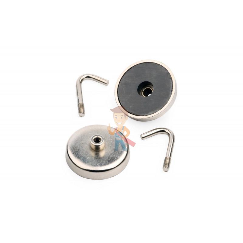 Магнитное крепление с крючком Forceberg 3,75 см, 2 шт - фото 8