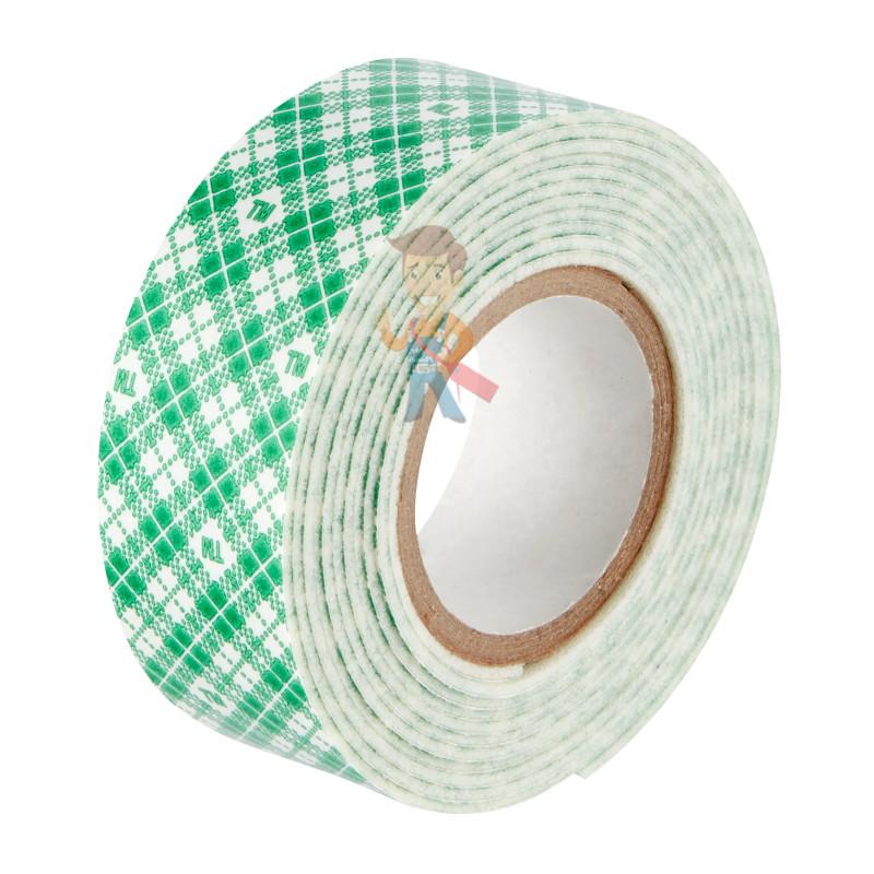 Лента клейкая монтажная влагостойкая для зеркал Scotch 4492-1915FGN, 19мм х 1,5м - фото 1