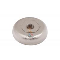 Магнитное крепление с винтом С32 (М6) - Магнитное крепление со сквозной внутренней резьбой Н16 (М4)