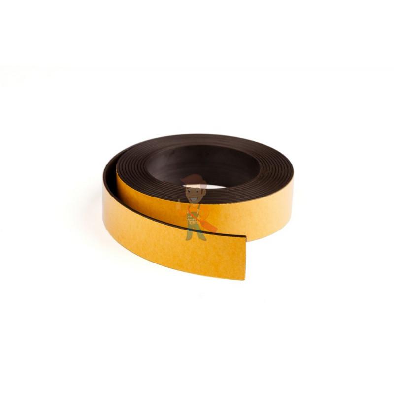 Магнитная лента Forceberg с клеевым слоем 25.4 мм, рулон 3 м, тип А