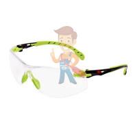 Cалфетки очищающие 3M, для ухода за очками, 100 шт. в индивидуальных упак. - Открытые защитные очки из поликарбоната, прозрачные, с покрытием Scotchgard™