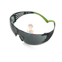 Cалфетки очищающие для ухода за очками в диспенсере, 500 штук в индивидуальных упаковках - Очки открытые защитные SecureFit™ 402, цвет линз - серый, с покрытием AS/AF против царапин и запотевания