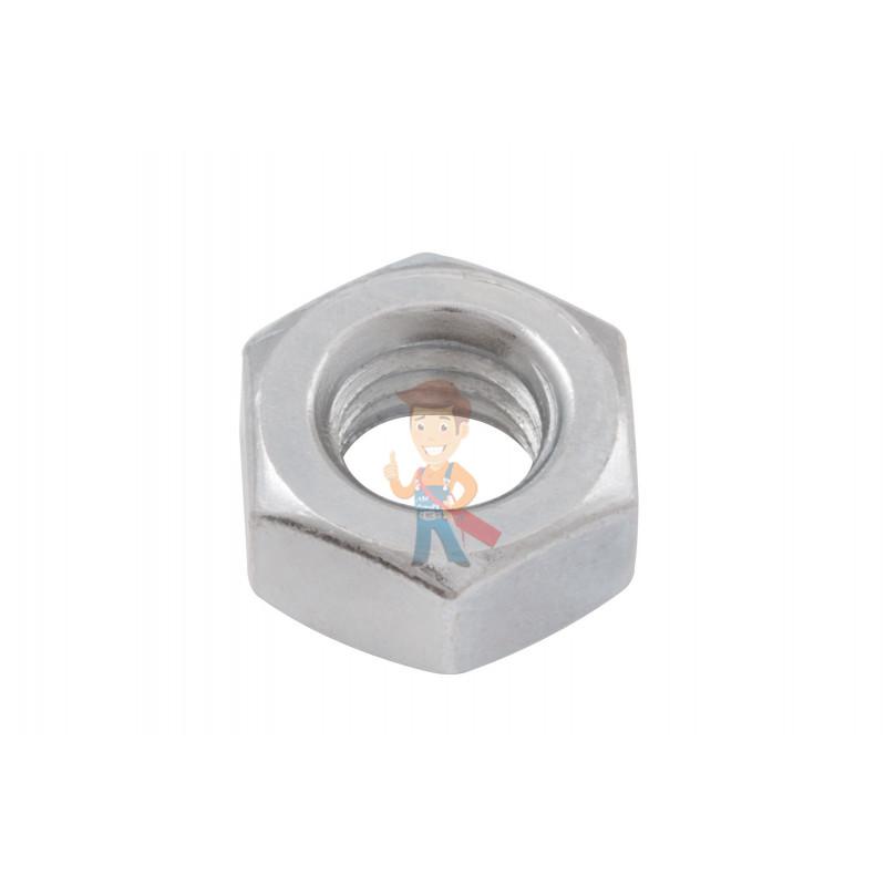 Гайка М10 шестигранная оцинкованная ГОСТ 5915-70 (DIN 934) Forceberg Home&DIY, 10 шт - фото 1