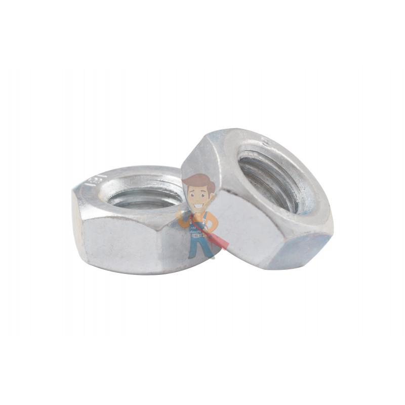 Гайка М10 шестигранная оцинкованная ГОСТ 5915-70 (DIN 934) Forceberg Home&DIY, 10 шт - фото 2