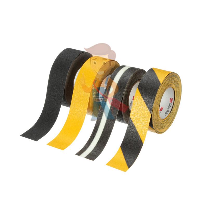Лента противоскользящая средней зернистости, универсальная, желтая,  50,8 мм x 18,3 м - фото 2