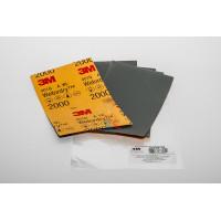 Круг зачистной 786C Cubitron™ II Roloc™, 50 мм, 36+, 3 шт./уп. - Лист Абразивный, микротонкий, 2000А, 138 мм х 230 мм, 3M™ Wetordry™ 401Q, 10 шт/уп